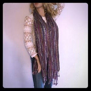 Accessories - Nice Shimmery Scarf Wrap